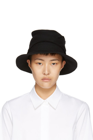 Y's - Black Layered Fedora