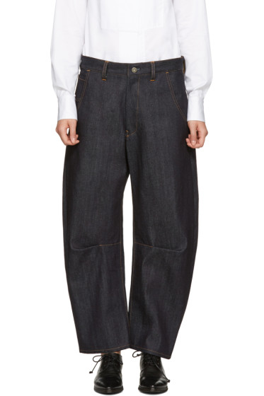 Y's - Indigo Rigid Jeans