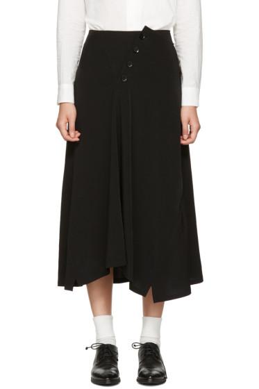 Y's - Black Long Skirt