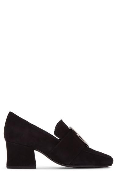 Dorateymur - Black Suede New Turbojet Heels