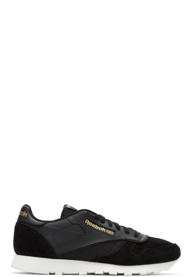 Reebok Classics - Black CL Attentive Lover Sneakers