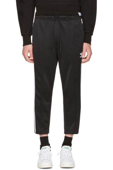 adidas Originals - Black SST Crop Lounge Pants