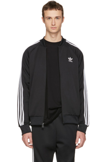 adidas Originals - Black Superstar Track Jacket