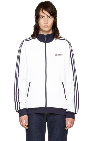 adidas Originals - White Beckenbauer Track Jacket