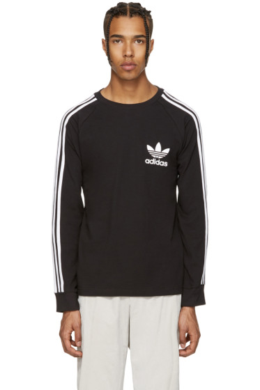 adidas Originals - Black Piqué T-Shirt