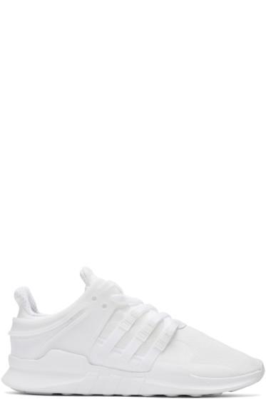 adidas Originals - White EQT Support ADV Sneakers