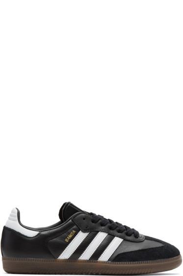 adidas Originals - Black Samba Sneakers