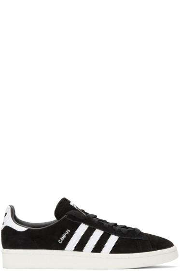 adidas Originals - Black Suede Campus Sneakers