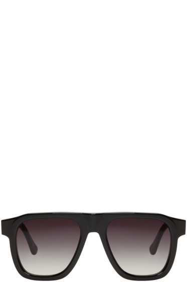 Tom Wood - Black Sam Sunglasses