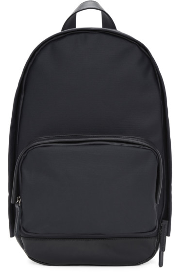 Haerfest - SSENSE Exclusive Navy Canvas H1 Backpack