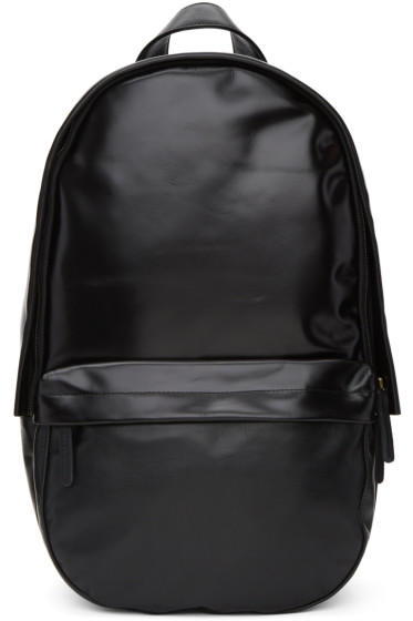 Haerfest - Black Leather H5 Capsule Backpack