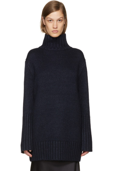 Protagonist - Navy 41 Oversized Knit Turtleneck