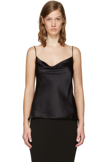 Protagonist - Black 15 Draped Camisole