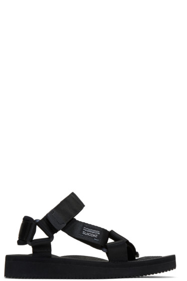 Suicoke - Black Depa-C Sandals
