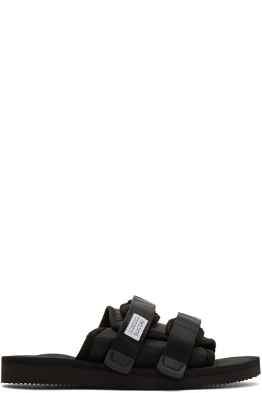 Suicoke - Black Moto Sandals