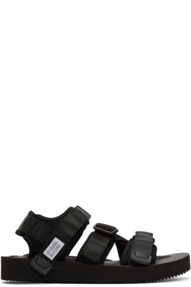 Suicoke - Black Kisee-V Sandals