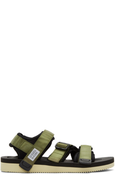Suicoke - Green Kisee-V Sandals