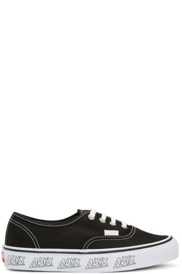 Alyx - Black Vans Edition OG Authentic LX Sneakers