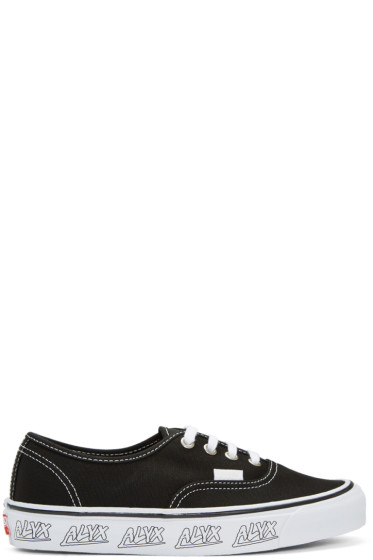 Alyx - Black Vans Edition OG Authentic LX Sneakers