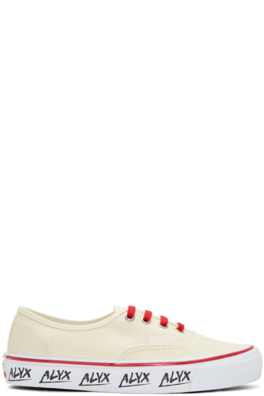 Alyx - Off-White Vans Edition OG Authentic LX Sneakers
