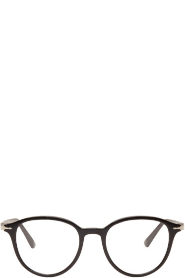 Persol - Black Officina Round Glasses
