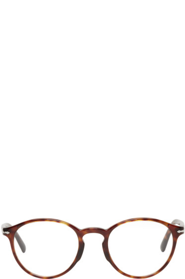 Persol - Tortoiseshell Round Glasses