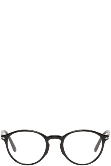 Persol - Black Round Glasses