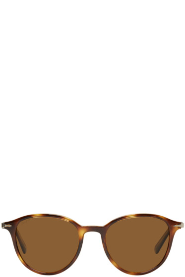 Persol - Tortoiseshell Officina Sunglasses
