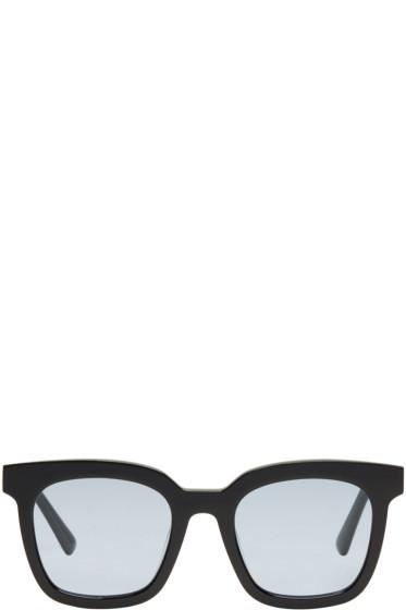 Gentle Monster - Black & Blue Finn Sunglasses