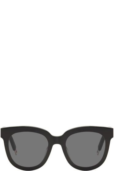 Gentle Monster - Black In Scarlet Sunglasses