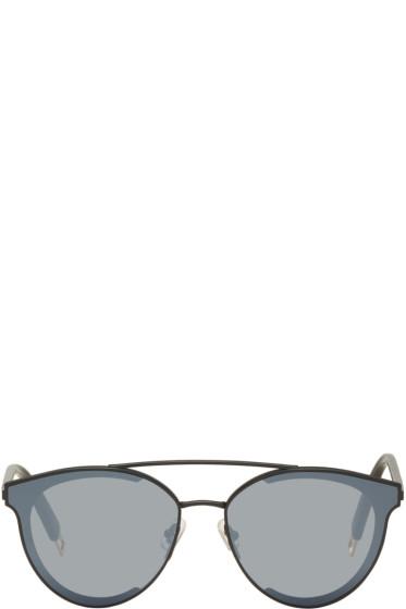 Gentle Monster - Black Last Bow Sunglasses