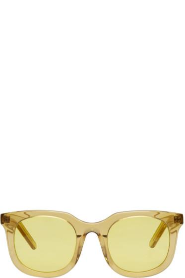 Han Kjobenhavn - Yellow Ace Sunglasses