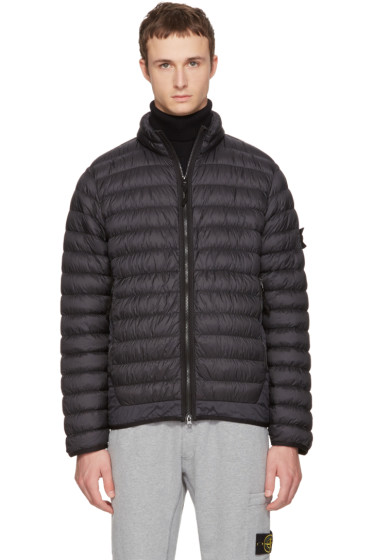 Stone Island - Black Lightweight Down Jacket