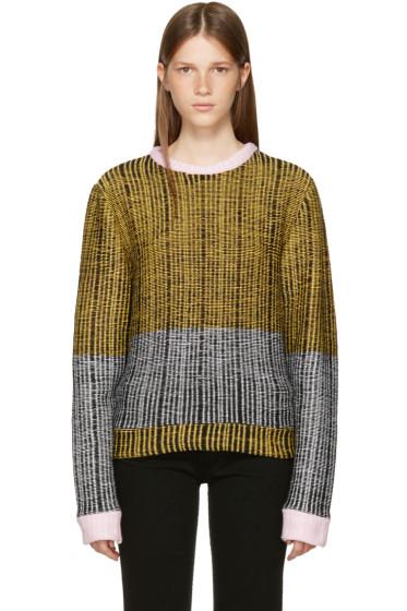 Eckhaus Latta - Multicolor Wiggly Road Sweater