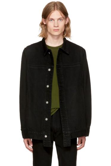 Eckhaus Latta - Black Classic Denim Jacket