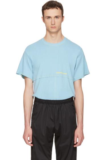 Eckhaus Latta - Blue Lapped T-Shirt