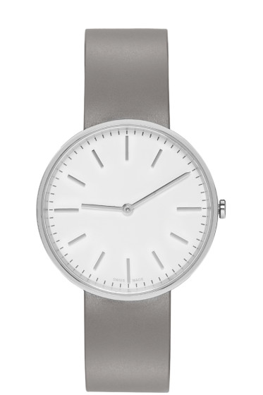 Uniform Wares - Silver & Grey Polished M37 Watch
