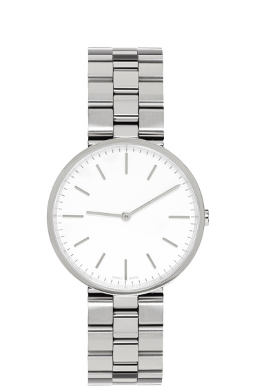 Uniform Wares - Silver Linked M37 Watch