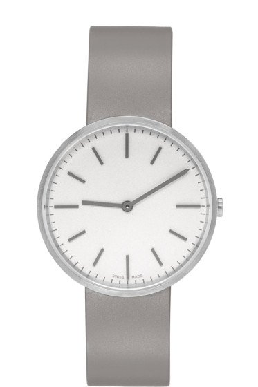 Uniform Wares - Silver & Grey Brushed M37 Watch