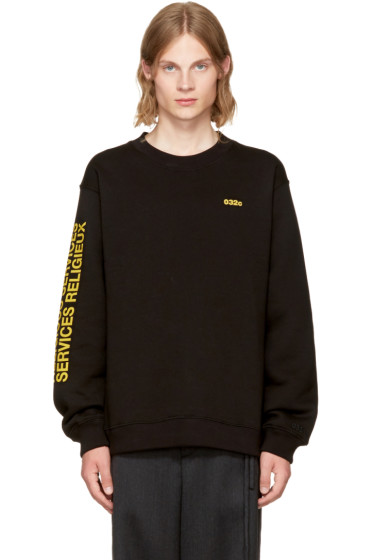 032c - SSENSE Exclusive 'Religious Services' Sweatshirt