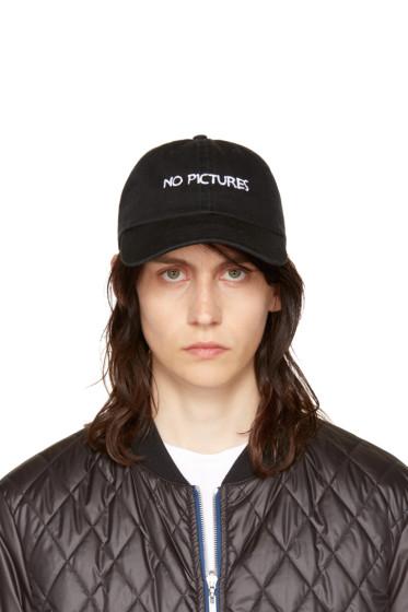 Nasaseasons - Black 'No Pictures' Cap