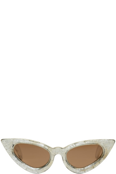 Kuboraum - Silver Maske Y3 Sunglasses