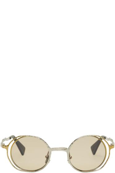 Kuboraum - Gold & Silver Maske H11 Sunglasses