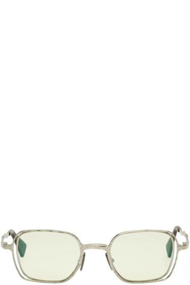 Kuboraum - Silver Maske H12 Sunglasses