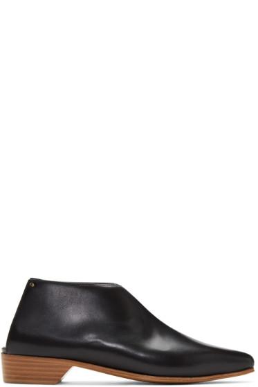 Alumnae - Black Mule Boots