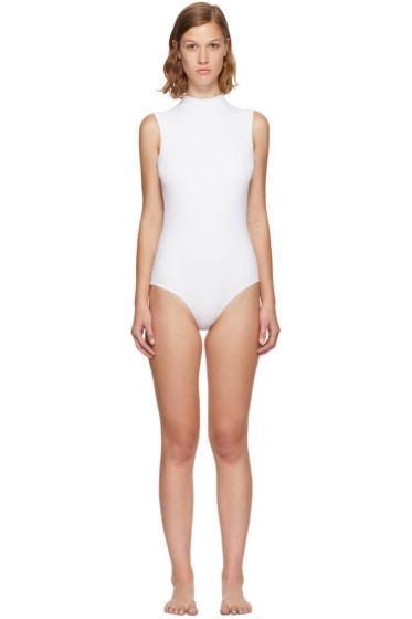 Ward Whillas - Reversible White & Black Harisson Swimsuit