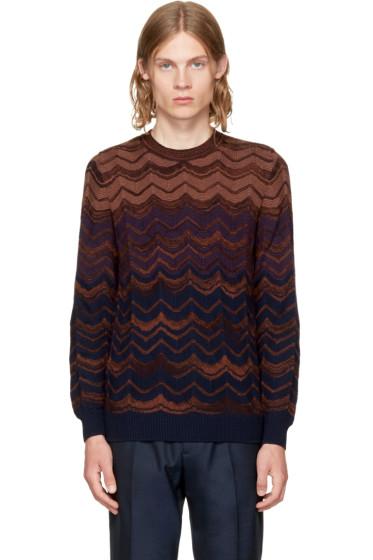 Missoni - Red Crewneck Sweater