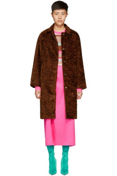 Sies Marjan - Brown Ripley Coat