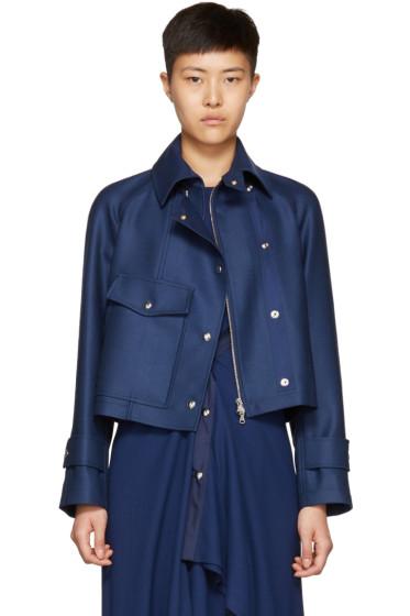 Sies Marjan - Navy Gemma Moto Jacket