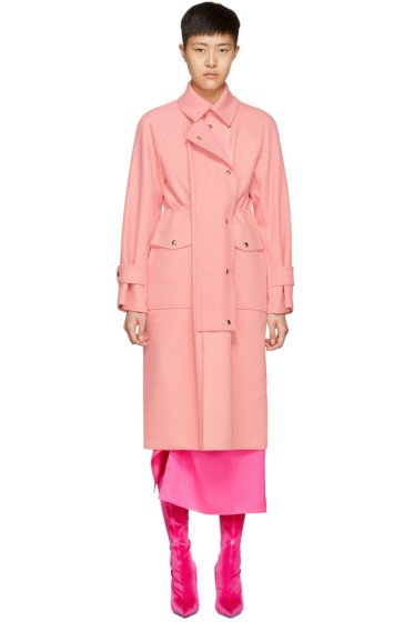 Sies Marjan - Pink Pockets Trench Coat